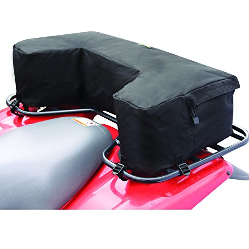 ATV Wrap-Around Rack Bag, Black - Rear Black Rack Bag