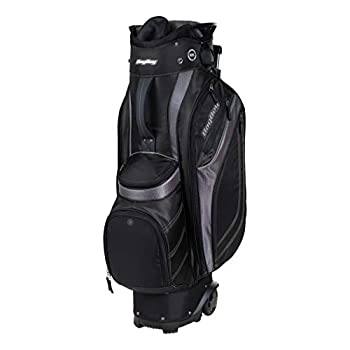 Image of BAGBOY Unisex's Transit Cart Bag Black/Charcoal/Silver, ONE Size Cart Bags
