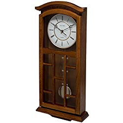 Fox and Simpson FSSW330 Kensington Oak Pendulum Clock