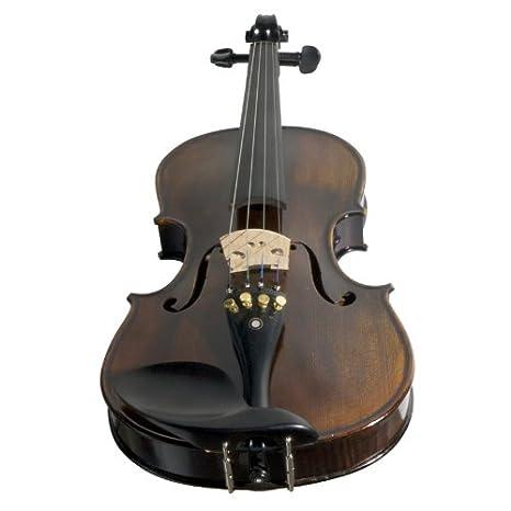 1 Pc Maple Violin Neck 4/4 With 1 Pc Black Ebony Violin Fingerboard 4/4 Violin Parts Violin Parts & Accessories