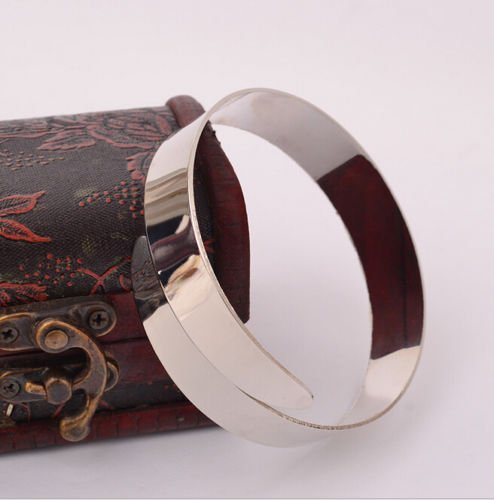 ERAWAN Egypt Cleopatra Swirl Snake Upper Arm Cuff Armlet Armband Bangle Bracelet New EW sakcharn (Silver)