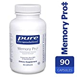 Pure Encapsulations – Memory Pro – Dietary Supplement with Broad-Spectrum Memory Support Formula* – 90 Capsules For Sale