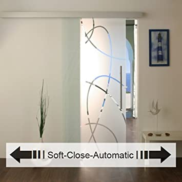 NEU Glasschiebetür mit Soft-Close-Automatic, Glasschiebetüren ...
