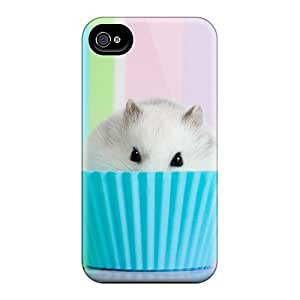 Fashion Protective Easter Cupcake Case Cover For Iphone 4/4s