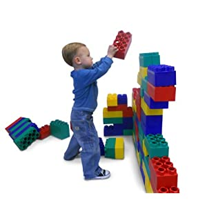 96pc Jumbo Blocks - Standard Set (Made in the USA) - 41Oq301ExdL - 96pc Jumbo Blocks – Standard Set (Made in the USA)