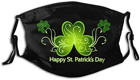 Celebrate St. Patrick'S Day St Patricks Day Face Mask Fashion Scarf Reusable Balaclavas For Men Women