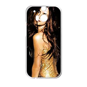 Penelope Cruz funda HTC One M8 caja funda del teléfono celular del teléfono celular blanco cubierta de la caja funda EVAXLKNBC25597