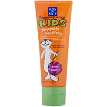 Kiss My Face Kids Fluoride Free Toothpaste Berry Smart -- 4 oz