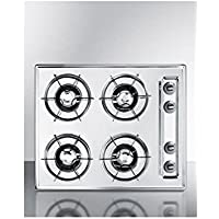 Summit ZNL03P Gas Cooktops, White