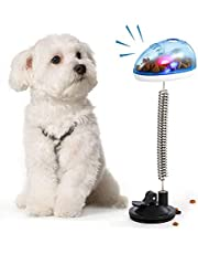 DADYPET Dog Food Ball, IQ Treat Ball Bite Toys Chewing Food Ball, Fun and Interactive Treat, Feeding Training Puppy for Dogs and Cats, Best Alternative to Bowl Feeding