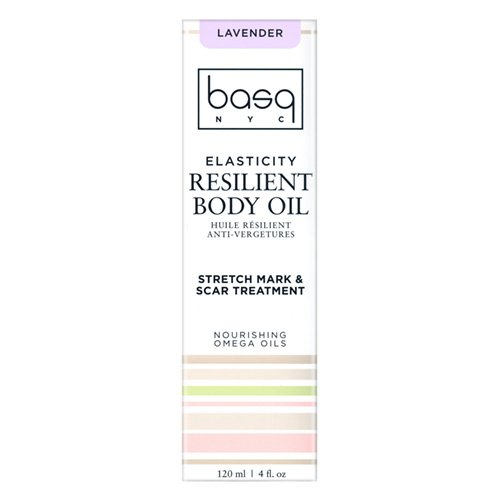 Basq Skin Care Resilient Body Stretch Mark Oil, Lavender, 4 Fluid Ounce by Basq (Image #3)