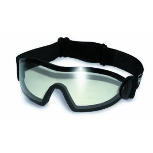 Global Vision Eyewear Flare Anti-Fog Goggles with Storage Pouch, Clear - Skydiving Sunglasses