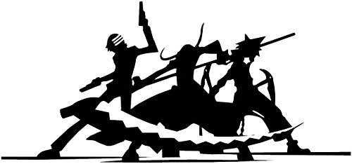 Soul Eater -- Silhouette Anime Decal Sticker for Car/Truck/Laptop (2.5