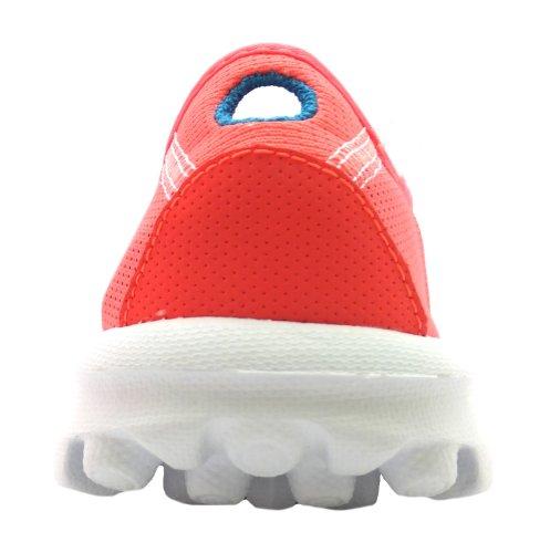 Igwhaoxvq Walk Donna Skechers Go Recover Mocassini Arancione YWSnSFwx