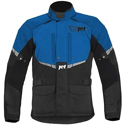JET textil impermeable Chaqueta de moto para hombre con blindaje CE