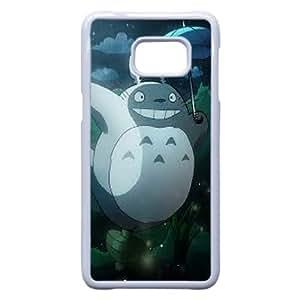 Samsung Galaxy S7 Edge Phone Case White Cartoon My Neighbour Totoro Case Cover PP7U362010