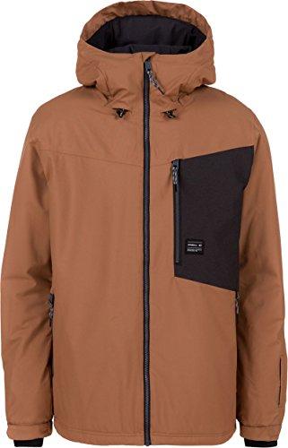 Oneill Snowboard Jackets (O'Neill 2017 Men's Cue Ski Snowboard Jacket Rawhide (Large))