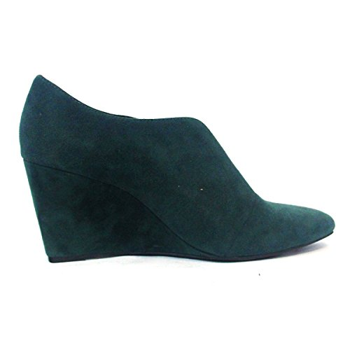 Juicy Couture Slip On Zapatos de cuña Waffle, talla 3,5 Verde - Ivy Green