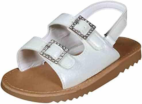 f4925977c85ac Shopping 4 Stars & Up - White - Sandals - Shoes - Girls - Clothing ...