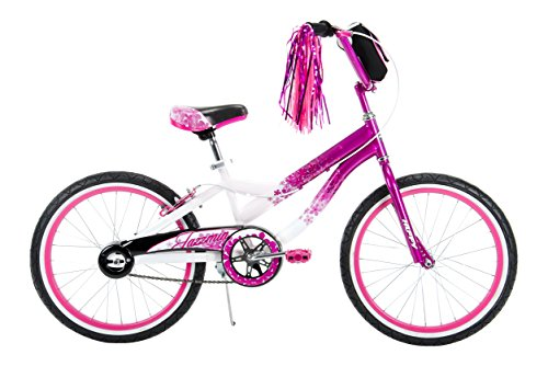 Huffy 20-inch Jazzmin Girls' Bike, Ideal for Ages 5-9 and...