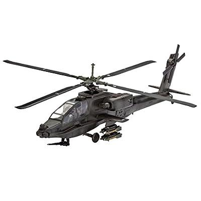 Revell Germany 04985 Apache 100 Helicopter Model Kit Model Kit: Toys & Games
