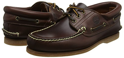 Timberland C76015 Men s Classic 3 Eye Padded Boat Shoes f4c3c847308