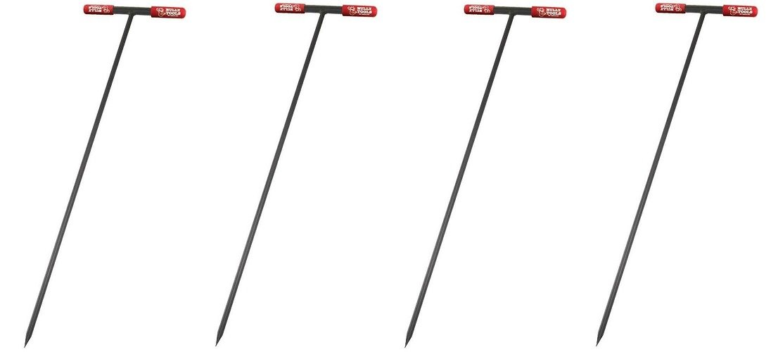 Bully Tools 99203 Soil Probe Steel Tstyle Handle, 48_inch (Pack of 4) by Bully Tools (Image #1)