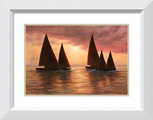 Amanti Art Dream Sails by Diane Romanello Framed Art Print, P4367291