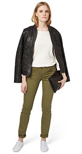 Carrie Pantaloni Donna Greyish Slim Tailor Dry Tom Olive qzwH67RxW