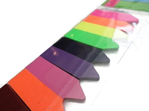 500 ct Note Flags Index Labels Post Arrows Color It Sticky Page Markers