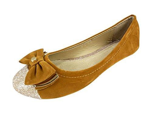 Chaussmaro , Damen Formelle Formelle Damen Schuhe Camel 376e4c