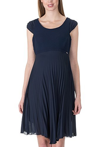 bellybutton Damen Kleid navy Arm Umstandskleid blue ohne Eventkleid frTfw4qv