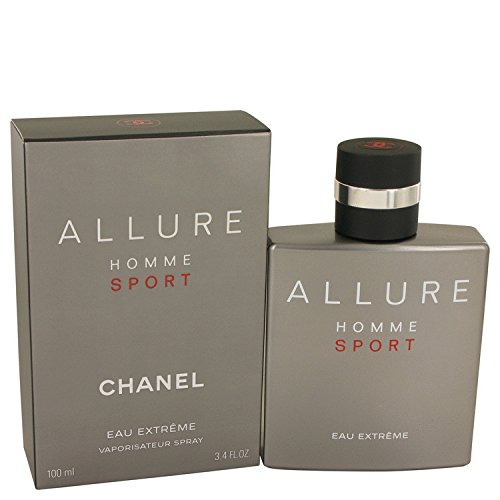 Chanēl Allurē Hommē Spōrt Eaû Extrēme Còlogne For Men 3.4 oz Eau De Parfum Spray + a FREE Shower Gel