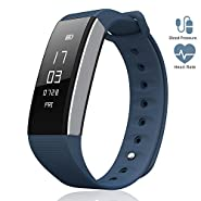 LePan, Bluetooth Smart Band, GPS, Blood Pressure, Heart Rate, Fitness Tracker Pedometer, Touchscreen, Sleeping Monitor, Smart Bracelet, Water Resistant,Silicone Bands, Compatible Android/iOS