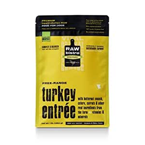 Raw Bistro Dehydrated Dog Food - Turkey Entrée - 1 lb: Pet