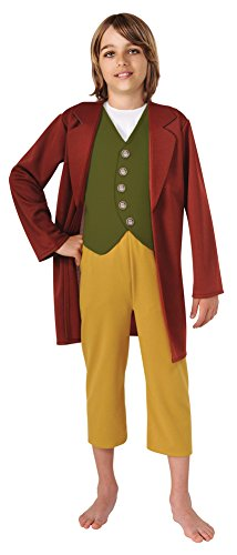 Bilbo Baggins Costumes (Bilbo Baggins Child Costume Sm Kids Boys Costume)