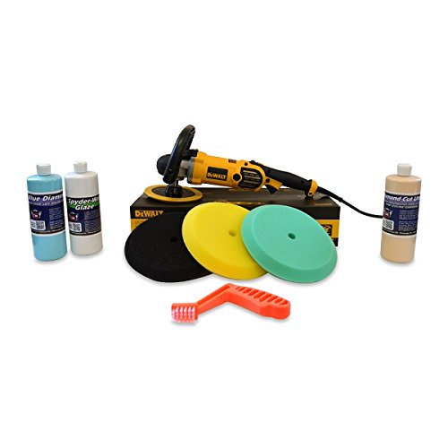 Detail King Dewalt DWP849X Polisher Swirl & Oxidation Remover Value Package - Single Sided by Detail King