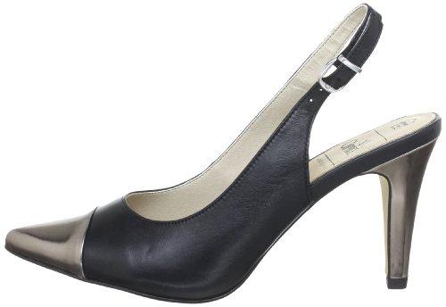 Caprice 9-9-29610-30, Damen Sandalen, Schwarz (BLACK/GUNMETAL), EU 37.5:  Amazon.de: Schuhe & Handtaschen