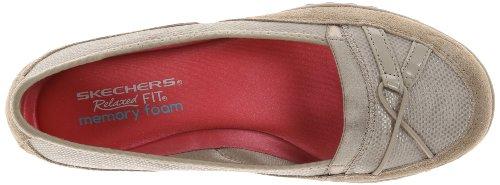 Skechers Sport Womens Sweet Stuff Ballet Flat Taupe