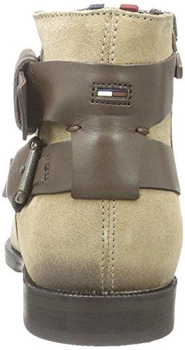 Hilfiger Denim G1385enny 10c, Zapatillas de Estar por Casa para Mujer Marrón - Braun (Dk Taupe/COFFEEBEAN 259)