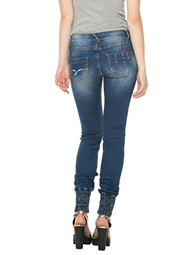 Desigual Africa Arrow - azul Mujer azul (Denim Medium Wash 5053)