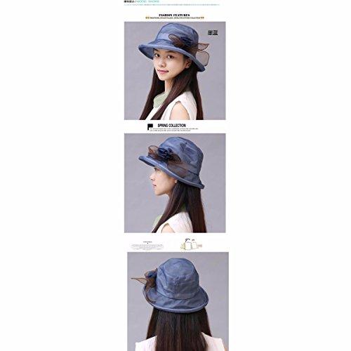 Hilados Bajo Tapa Tapa Nieve El Cap Transpirable Playa Hat Cool a Azul Chica Rosa Tejido mz Sombreros De Perfil En Visor La Yangfeifei Verano Cap wA4Yq70qX