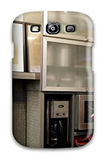IPOCVkV1100mBLxi Case Cover Frosted Glass Cabinets And Metallic Surfaces Give The Illusion Of Space Galaxy S3 Protective Case