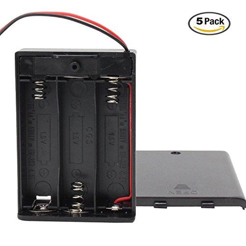 Plastic Battery Holder - 5