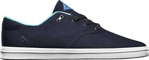 Emerica Men's The Reynolds Cruiser LT Skateboard Shoe, Blue/White, 12 M US - Reynolds Skateboard Shoe