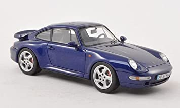 Porsche 911 Turbo (993), met.-blue , Model Car, Ready