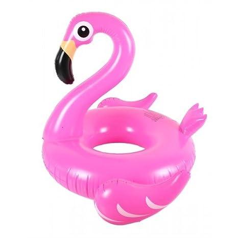 Flotador inflable en forma de flamenco tamaño gigante para la piscina o playa. Flamenco flotador hinchable para la piscina o la playa por Integrity co: ...