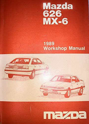 Mazda 626 MX-6 1989 Workshop Manual