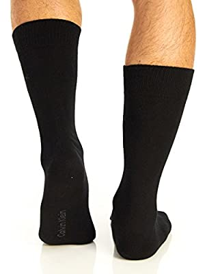 Calvin Klein Men's Casual Crew Socks - 4 Pack