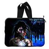 The Wiccan Queen Laptop Sleeve 13 / 13.3 Inch for Macbook Pro 13/macbook Air 13 and Laptop Case 13.3 Inch Dell/hp/lenovo/sony/toshiba/ausa /Acer/samsung Laptop Bag